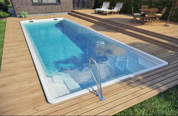 Bể bơi composite mẫu 01