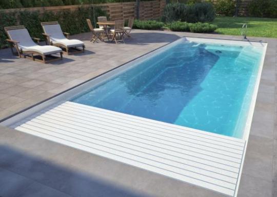 Bể bơi composite mẫu 02