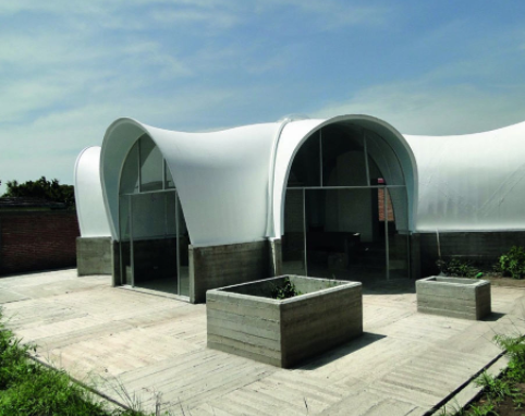 Kiến trúc, nhà ở bằng composite 15