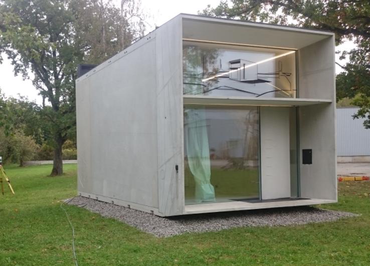 Kiến trúc, nhà ở bằng composite 16