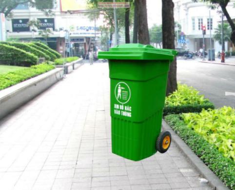 Thùng rác composite 10