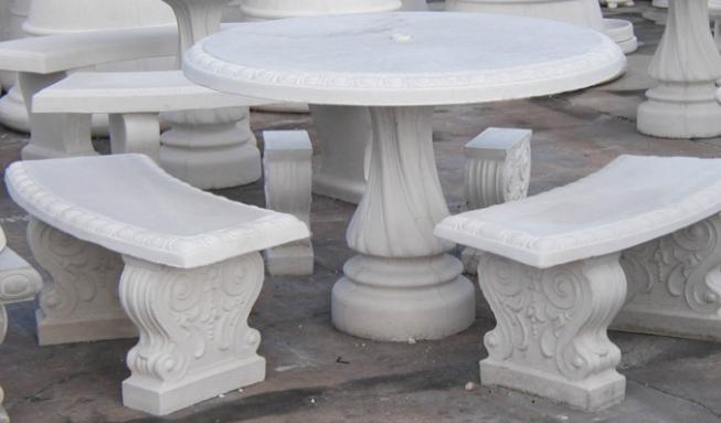 Bàn ghế composite 11