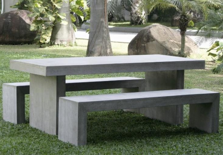 Bàn ghế composite 12