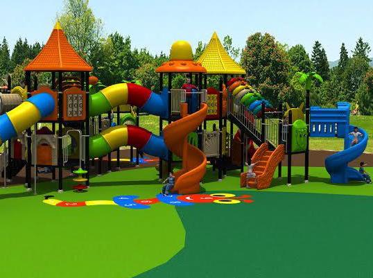 Khu vui chơi trẻ em bằng composite 03