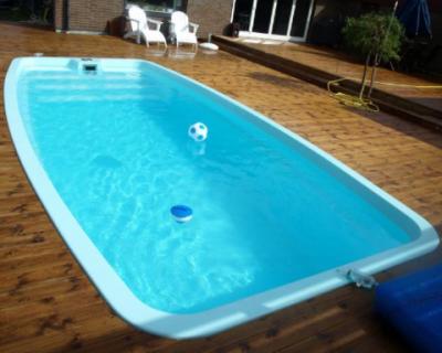 Bể bơi composite mẫu 03