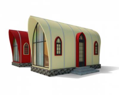 Kiến trúc, nhà ở bằng composite 11