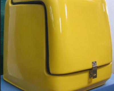 Thùng chở hàng xe máy bằng composite